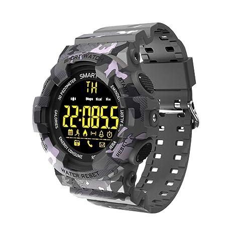 Amazon.com: Glo buy BM18 Reloj inteligente con Bluetooth ...