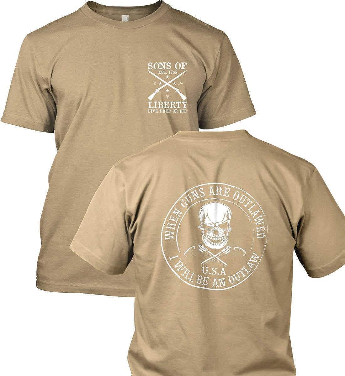 I Will be an Outlaw When Guns are Outlawed Gildan T-Shirt