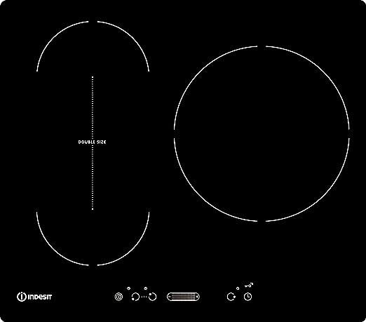 Indesit iVIS 631 BL F placa de cocina inducción: Amazon.es ...