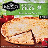Sabatasso's Expect More Gluten-Free Four-Cheese Pizza 3 ct Box