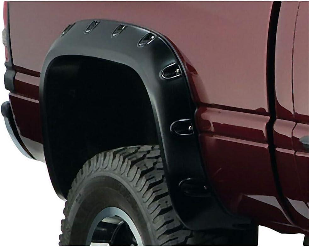 WFLNHB Matte Black Fender Flares Pocket Style Fit for 1994-2002 Dodge Ram 1500 2500 3500