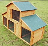 RH-12 W/Run For Rabbit Hutch / Guinea Pig CC Only