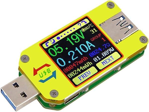 Dollatek Um34c Usb Meter Tester Voltage Current Elektronik