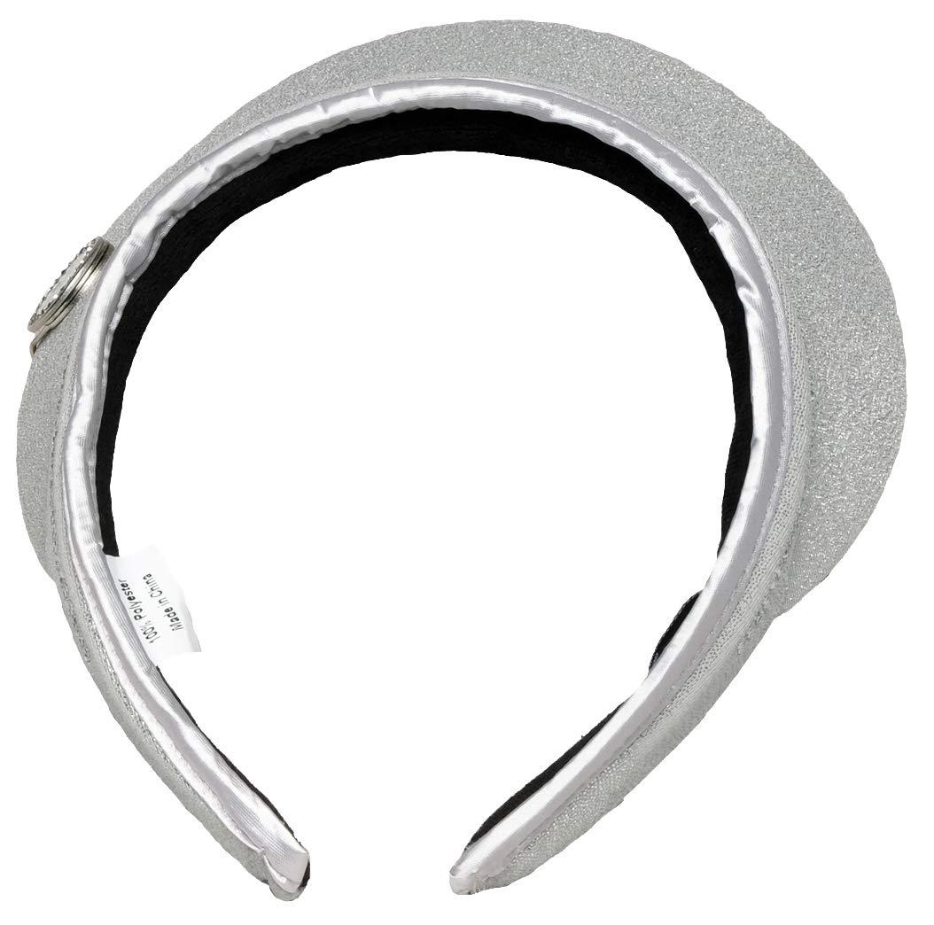 Glove It Women's Bling Visor (Silver) by Glove It (Image #3)