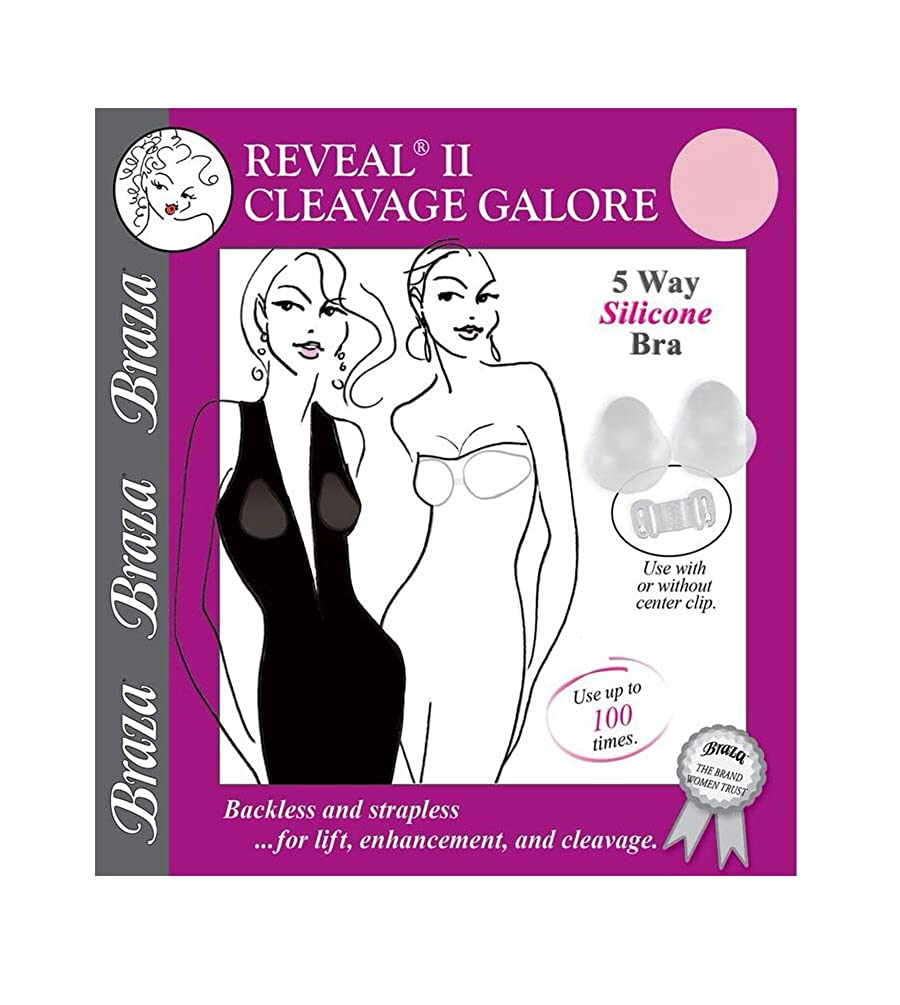 Braza Reveal 2 Cleavage Galore - 5 Way Silicone Strapless Bra