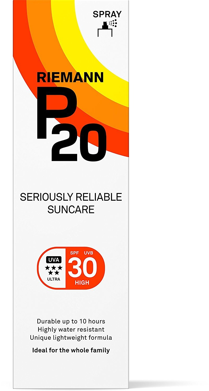Riemann P20 Once a Day 10 Hours Protection SPF30 Sunscreen 100ml 40010990 B00APL4K0A