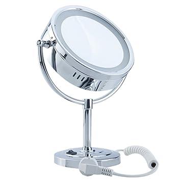 Schönheit & Gesundheit Make-up Doppelseitige Kosmetik Spiegel Normalen Und Stand Spiegel Starke Verpackung