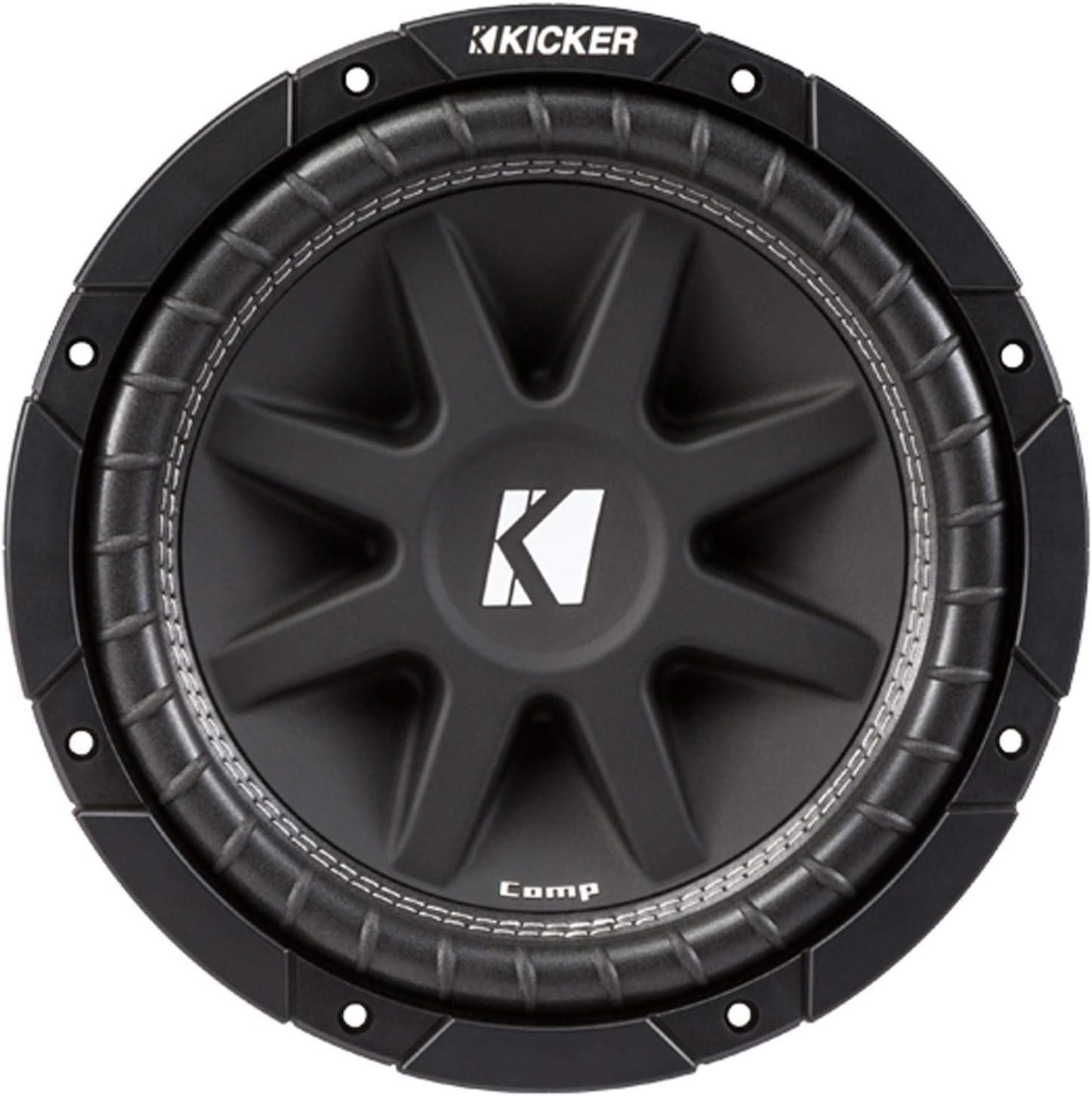 Box//Enclosure KICKER C104 10 300W COMP 4-Ohm Subwoofer Sub Woofer C10 43C104