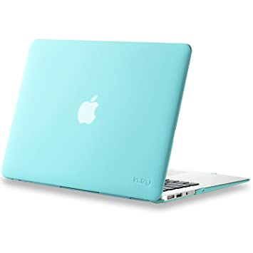 Amazon Com Kuzy Air 13 Inch Teal Turquoise Hot Blue Rubberized