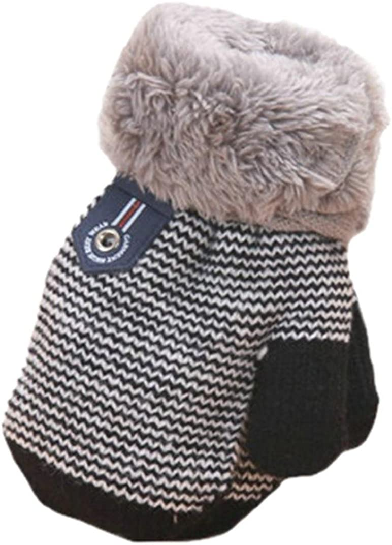 Muium Cute Thicken Hot Infant Baby Girls Boys Of Winter Warm Gloves For 0-4 Years