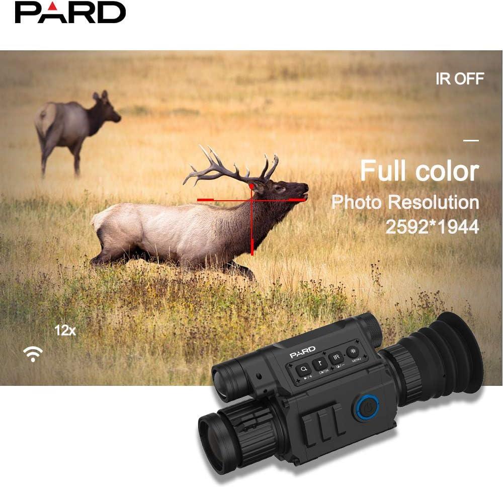Pard NV008 plus  Waterproof Digital Night Vision scope WiFi IOS /&  Android