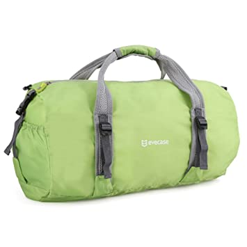 Duffle Bag Evecase Lightweight Packable Travel Luggage For Sports Gym Vacation