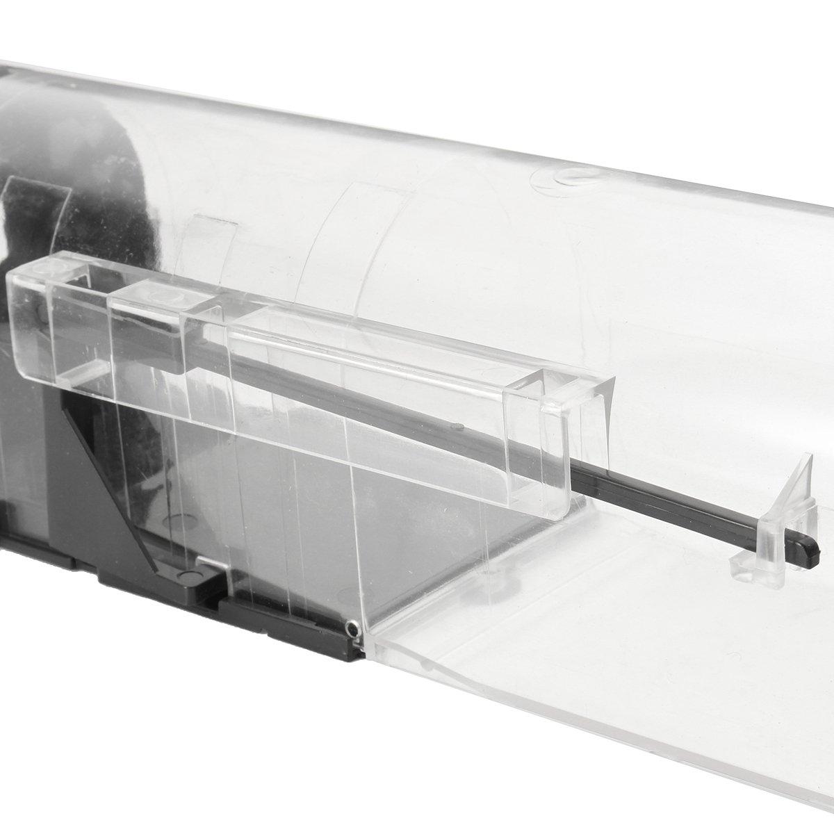 SAFETYON Automatic Lock Mousetrap, Rat Hole Plastic Mice Cage Agile Pedal Trap Pest Control Mouse Trap Live Catch