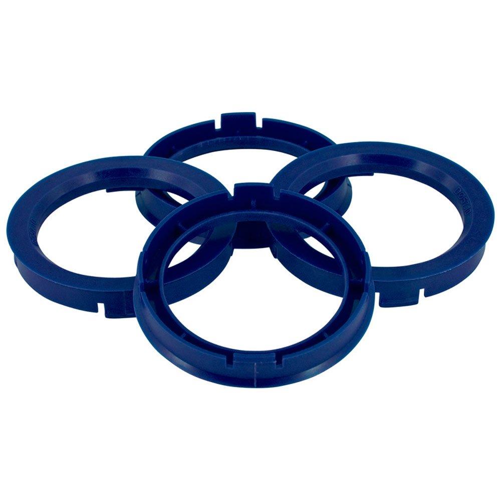 Set mozzo ruota TPI –  Anelli 67.1- > 56.6 mm Reflex, Blu BX6715660-4