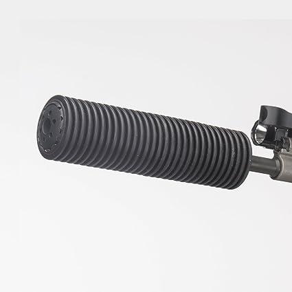 amazon com manta suppressor sleeve black 7 0 x 1 5 sports