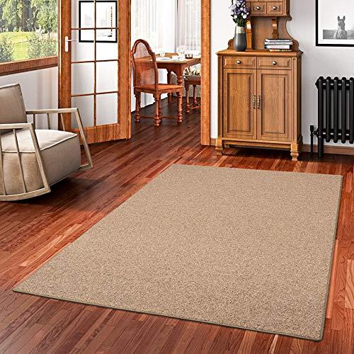 Snapstyle Natur Teppich Wolle Berber Braun in 24 Größen B002HSAO4U Teppiche