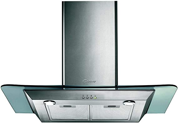 Candy CMDG 919 X - Campana (900 m³/h, Canalizado/Recirculación, De pared, Acero inoxidable, 40 W, 2 bombilla(s)): Amazon.es: Hogar