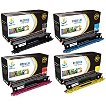 Catch Supplies Replacement TN115 Toner Cartridge 4 Pack for the Brother TN-115 series|1 TN115BK, 1 TN115C, 1 TN115M, 1 TN115Y| compatible with HL-4040,4070, MFC-9440,9450,9840,9842,9940, DCP-9040,9045