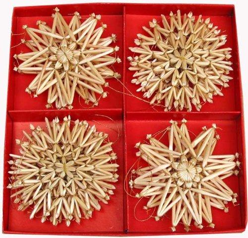 Straw Star Ornaments