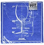 Paperproducts Design 20-Pack Barchitecture Wine Paper Cocktail Napkins
