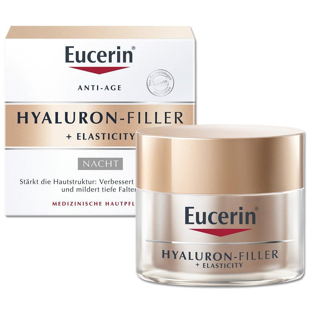 Eucerin Hyaluron-Filler + Elasticity Crema Notte Anti Età 50 ml