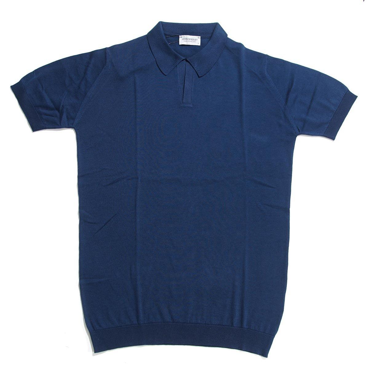 (ジョンスメドレー) JOHN SMEDLEY ニット ポロシャツ/NOAH [並行輸入品] B0771JW7GQ M|インディゴ インディゴ M