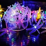 VMANOO Christmas Solar Lights 15.5ft 20 LED 8 Modes