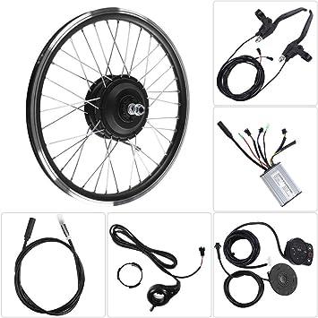 Vikye Kits de conversión de Bicicleta eléctrica, Rueda de 26