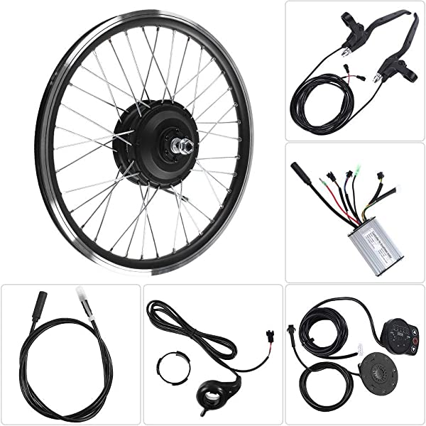 Jacksking Kit de conversión de Bicicleta eléctrica, Motor 24V 250W ...
