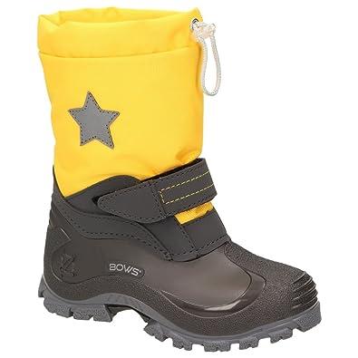 new concept f7e58 32ec2 BOWS® -Robin- Jungen Mädchen Schuhe Kinder Schnee Winter Stiefel Winter  Boots gefüttert wasserdicht wasserabweisend Phthalat-Frei