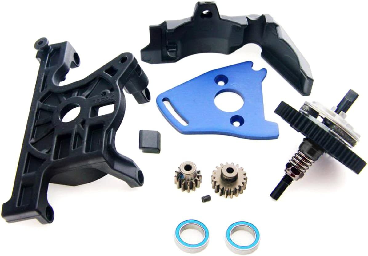 B00ERU8XS0 Traxxas 1/10 Slash 4x4 Platinum SPUR Gear Slipper Clutch Motor Mount Pinon 54-T 61HoNcS5BPL