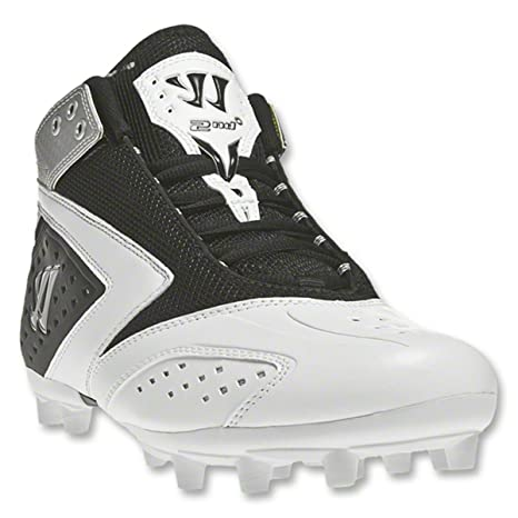 6ffc90129 Image Unavailable. Image not available for. Color  WARRIOR New Mens 2nd  Degree 3.0 Lacrosse Mid Cleats ...