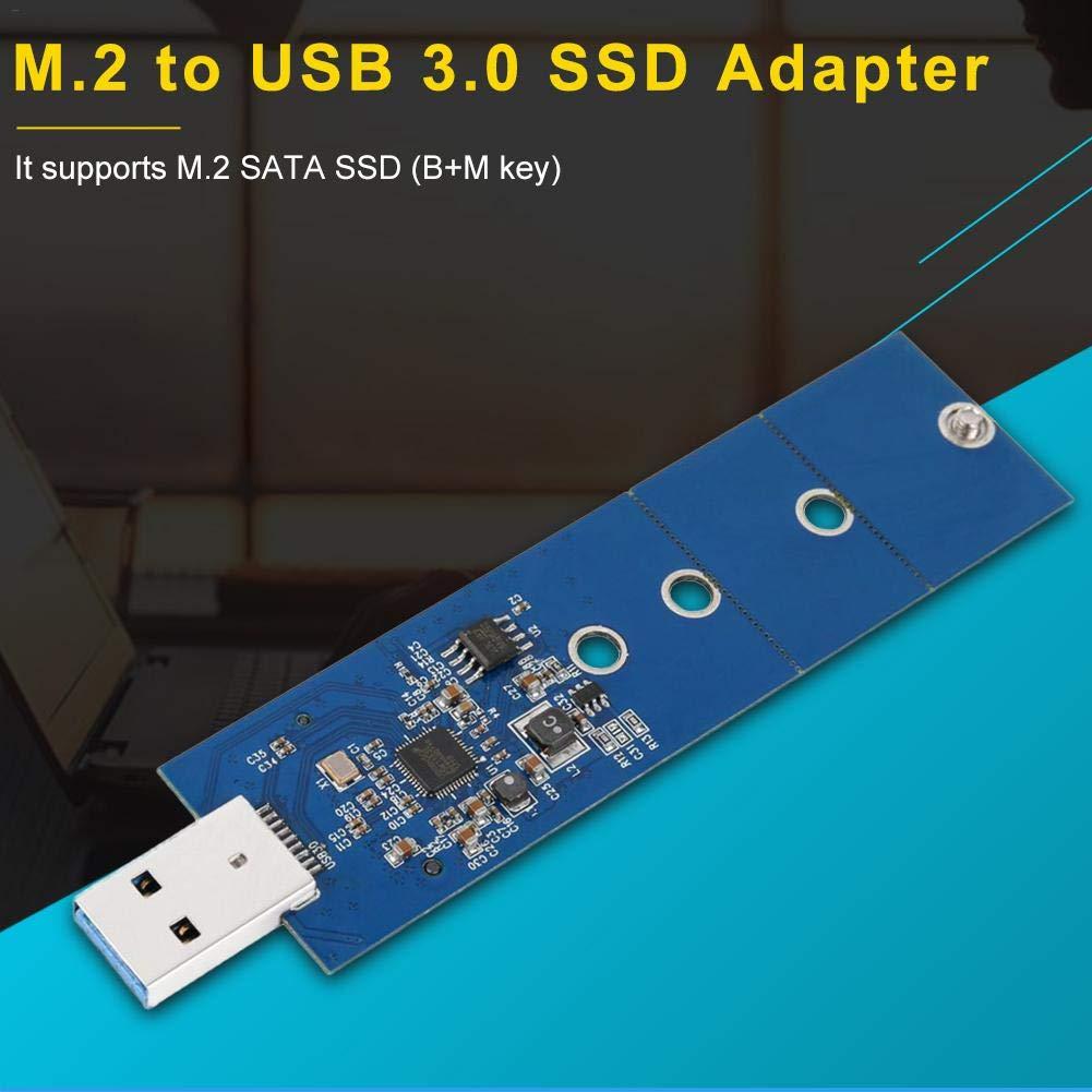 presentimer - Adaptador M.2 a USB B (Adaptador M.2 SSD, USB 3.0 ...