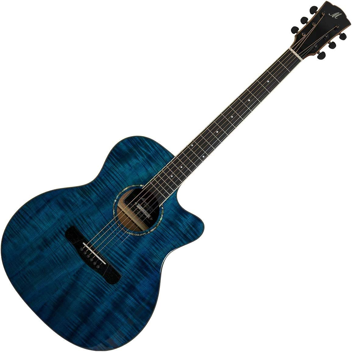 Merida Extrema GACE Ltd. Ed. - Guitarra electroacústica, color azul