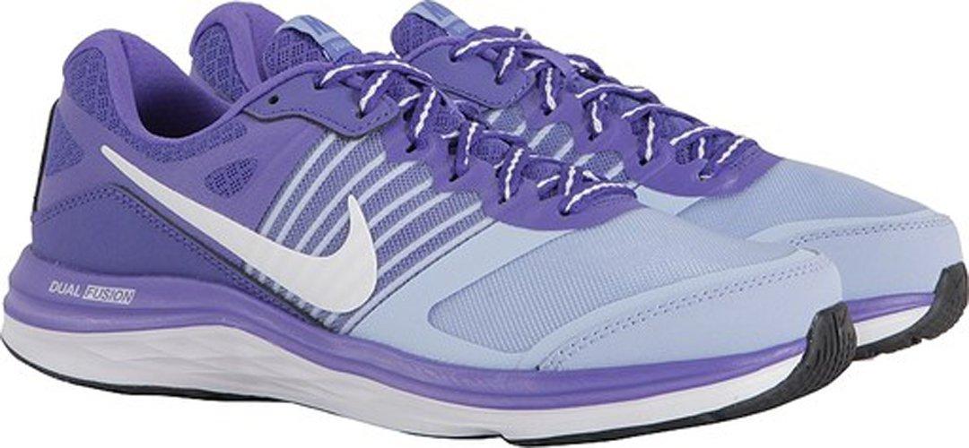 Nike Dual Fusion X - Zapatillas de Running para Mujer 38 Multicolor (Aluminum / White Persian Violet)