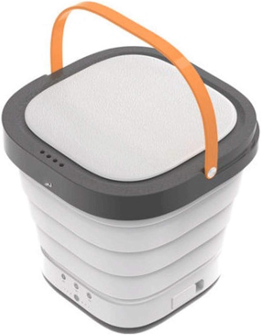 Mini Lavadora Lavadora y secadora Portátil Ahorro de energía 40W Mini lavadora plegable para ropa de bebé Calcetines de ropa interior en apartamentos de viaje completamente automático Lavadoras Portát