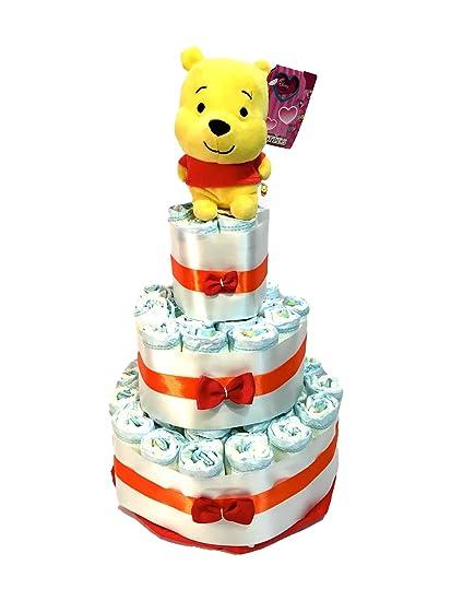 Tarta de pañales DODOT Winnie Pooh Kids oficial Disney