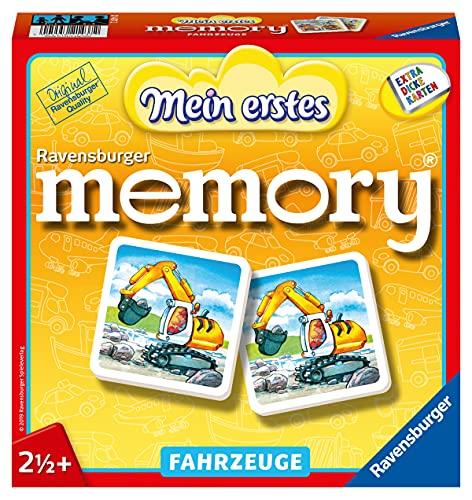 Ravensburger 21437 Mein erstes Memory® - Vehículos a Partir de 2 1/2 años