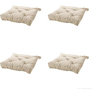 Delicieux Ikeas MALINDA Chair Cushion, Light Beige 4 Pack