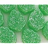 Green Spearmint Leaves Candy 1LB Bag