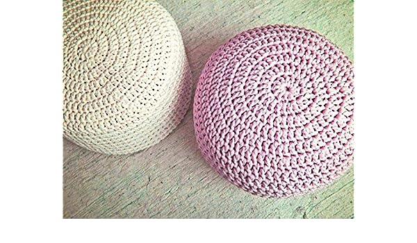 Fabulous Amazon Com Light Pink Nursery Foot Stool Pouf Ottoman Baby Cjindustries Chair Design For Home Cjindustriesco