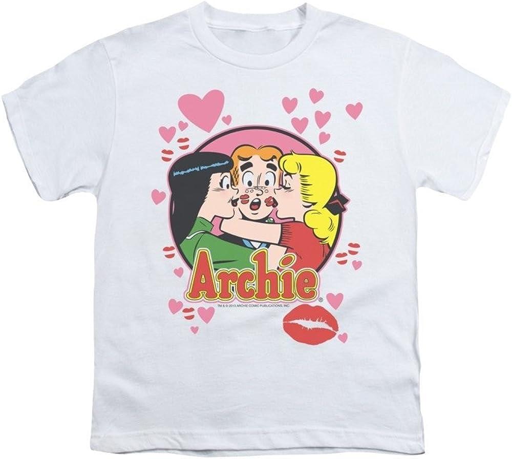 Archie Comics Kisses For Archie Youth T-shirt