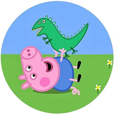 L&L LL Peppa Pig Fondant Tarta, Tarta, diseño de Tarta de ...