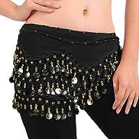 FLOFIA 1pc Cinturón Danza del Vientre Mujer Bufanda