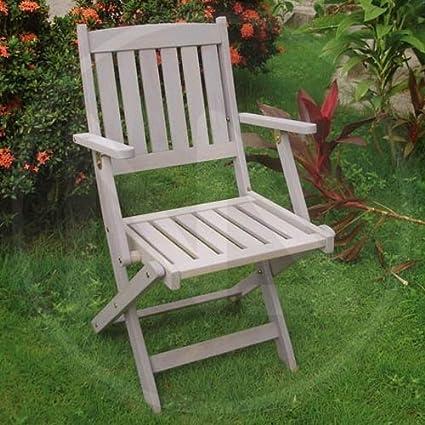 Sedie Da Giardino Fai Da Te.Sedie Sedia Pieghevole Da Giardino In Legno Balau Lerici