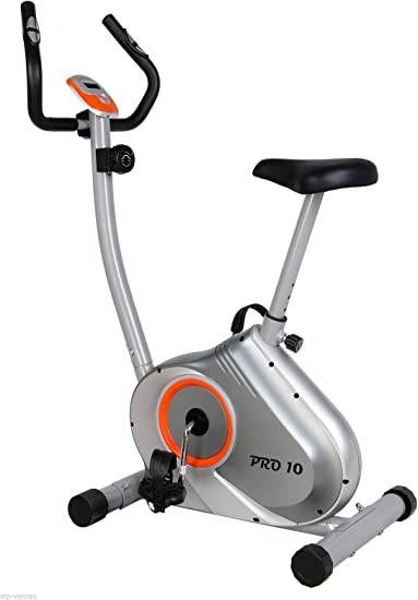 Pro10 Bicicleta estática Regulable con Micro Ordenador: Amazon.es ...