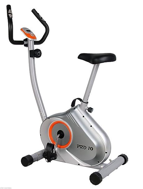 Pro10 Bicicleta estática Regulable con Micro Ordenador: Amazon.es ...