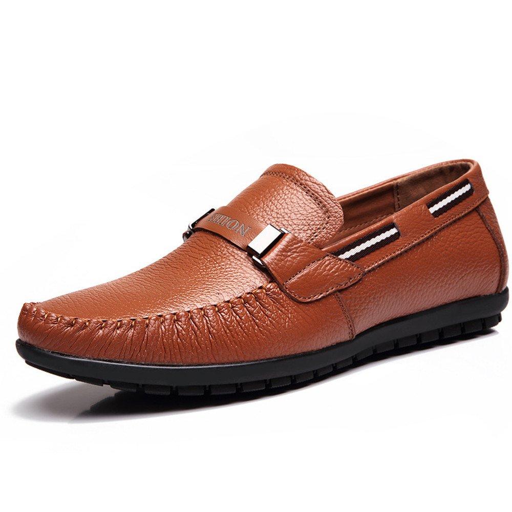 Gli uomini sono casualmente casualmente casualmente scarpe di pelle, cuoio uomini 'bean scarpe casual scarpe sportive,giallo,39 33801a