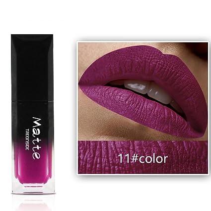 J * MYI labios, Magic lentejuelas Lipstick, barra de labios mate ...