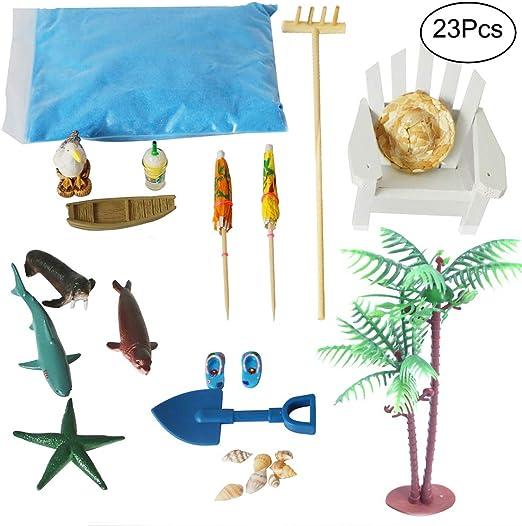 BangBangDa - Kit de Accesorios de jardín para Playa Zen – Juego de ...